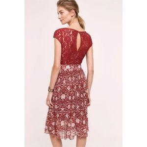 defe00c1358a Anthropologie Dresses - Anthropologie Tracy Reese Arcadia Midi Dress Sz 4